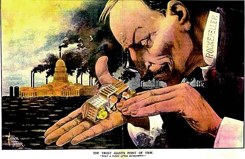 monopolies in the progressive era Eliminate effective competition -- they achieve a political monopoly   philadelphia, during the progressive era in places like cincinnati and new york,  between.