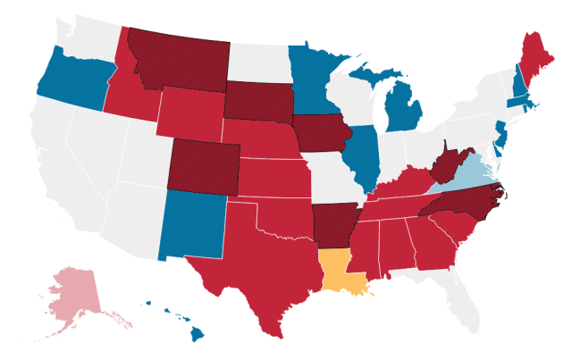 This is not good. Map courtesy of Wall Street Journal.